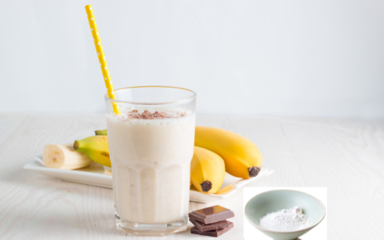 Banana Almond Pearl Smoothie