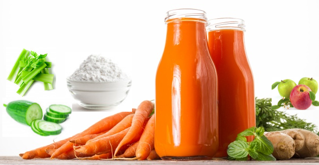 Yummy Carrot Juice For Hair Growth